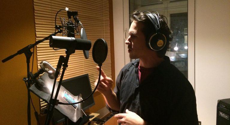 Klaus im Studio